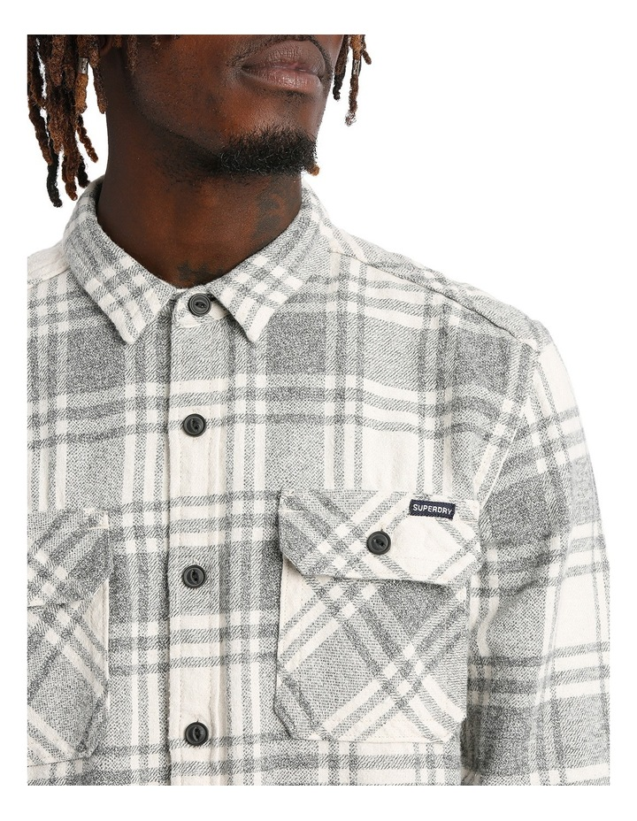 Milled Flannel Long Sleeve Shirt image 4