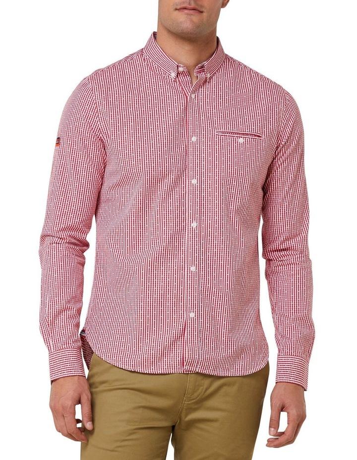 Premium University Long Sleeve Shirt image 1