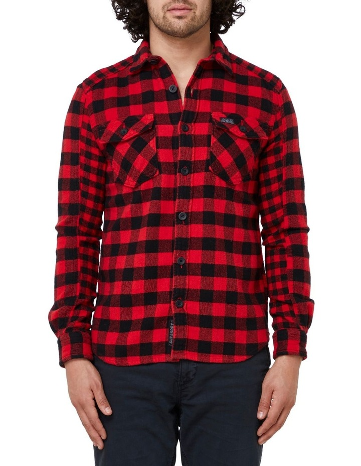 Buffalo Flannel Long Sleeve Shirt image 1