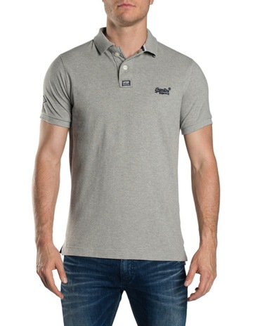 b7bc2af7f0 Superdry Classic Pique Short Sleeve Polo
