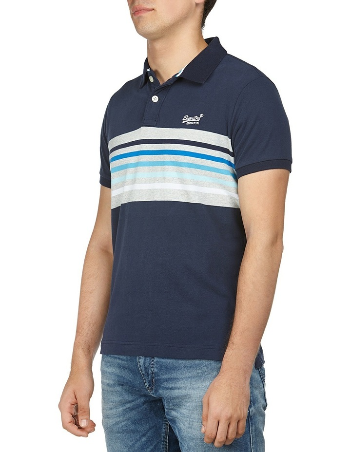 Classic Cali Short Sleeve Banner Polo image 2