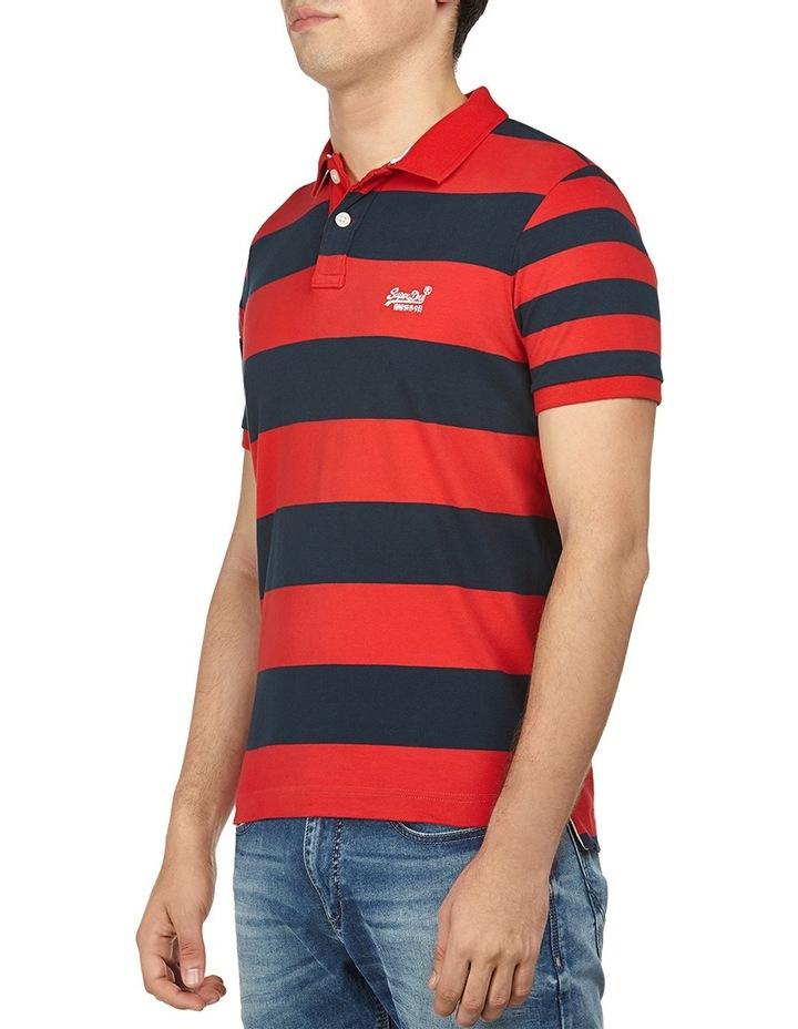 Louder Stripe Short Sleeve Polo image 2