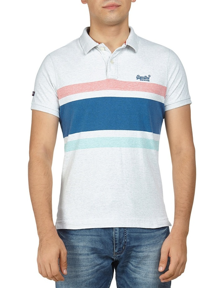 CLSSIC HARDWICK STRPE S/S POLO image 1