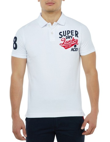 Superdry CNY Superstate Pique Polo 3a4db4b55371a