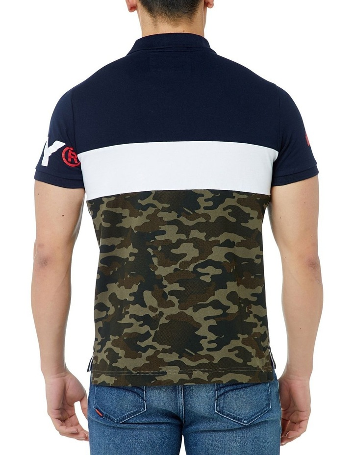 INT'L CAMO S/S JERSEY POLO image 3