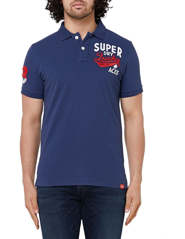 Chinese New Year Superstate Short Sleeve Polo image 1