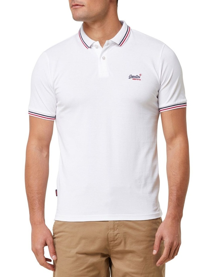 Classic Micro Lite Tipped Short Sleeve Polo image 1