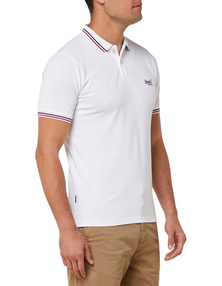 Classic Micro Lite Tipped Short Sleeve Polo image 2