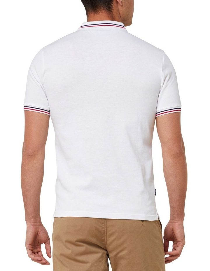 Classic Micro Lite Tipped Short Sleeve Polo image 3