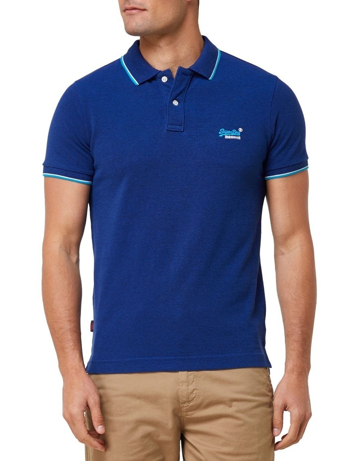 Poolside Pique Short Sleeve Polo image 1