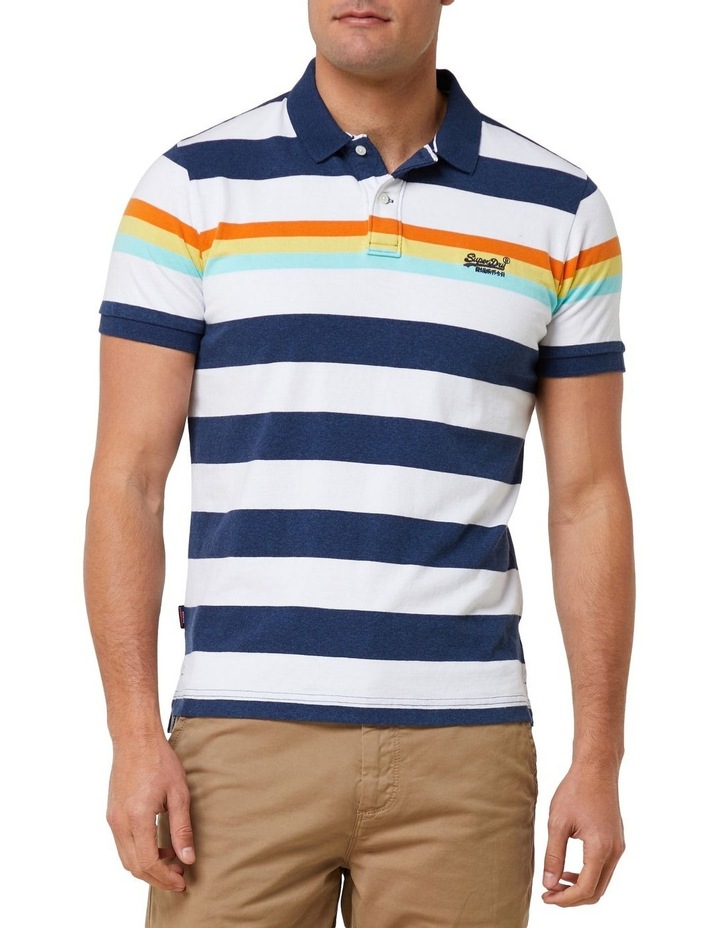 Horizon Stripe Polo image 1