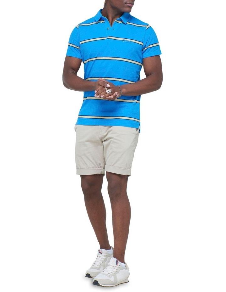 Academy Stripe Polo Blue Stripe image 2