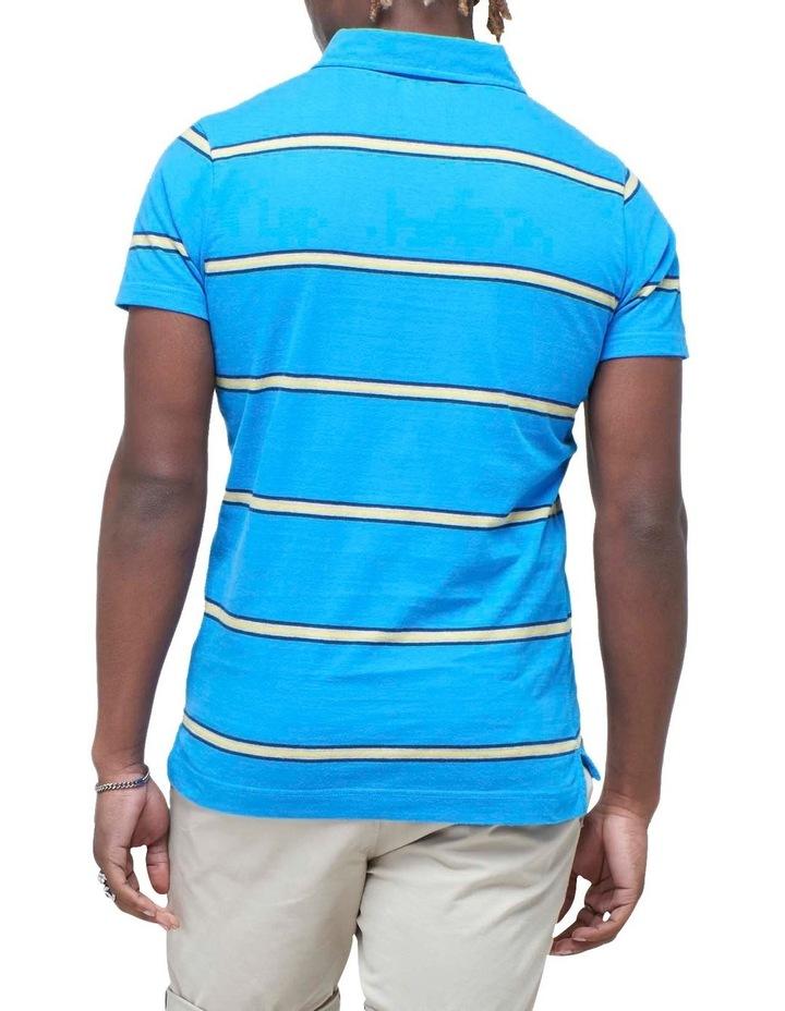 Academy Stripe Polo Blue Stripe image 4