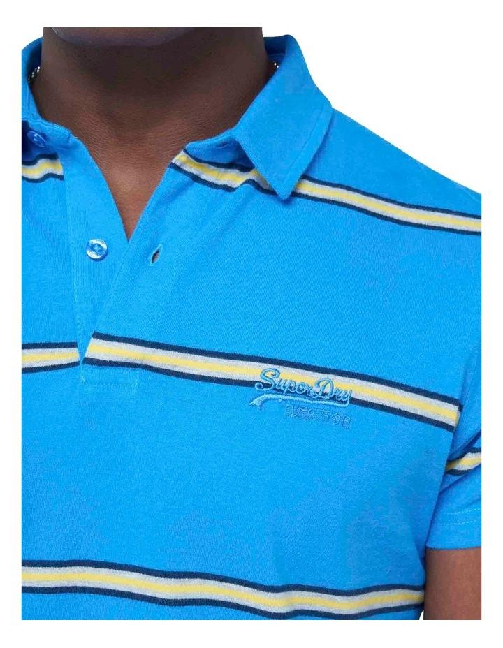 Academy Stripe Polo Blue Stripe image 6