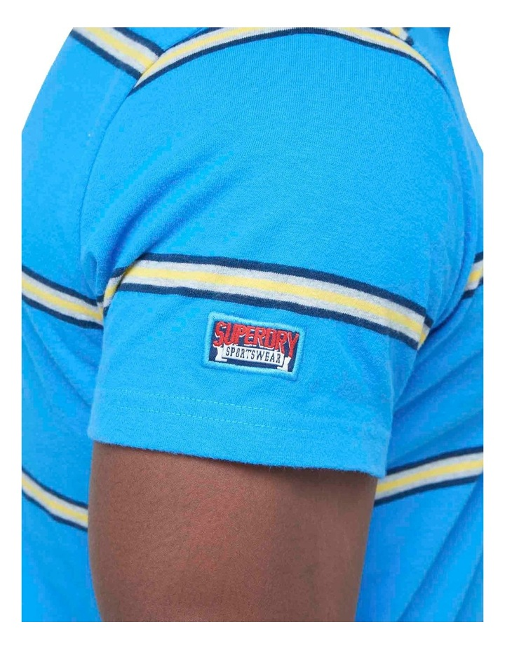 Academy Stripe Polo Blue Stripe image 7