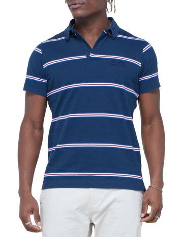 Varsity Navy Stripe colour