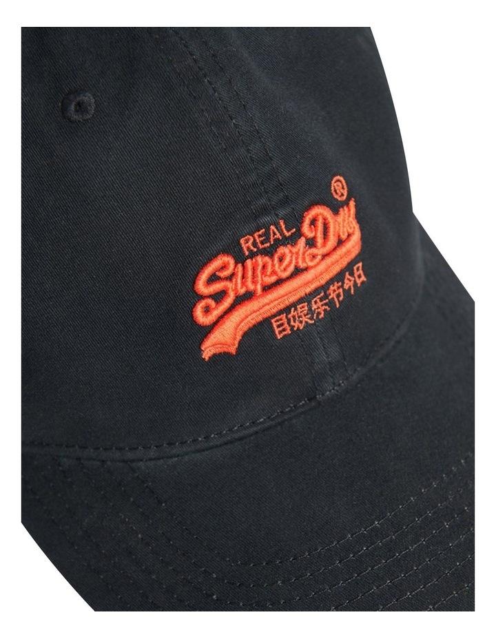 Orange Label Cap Black image 2