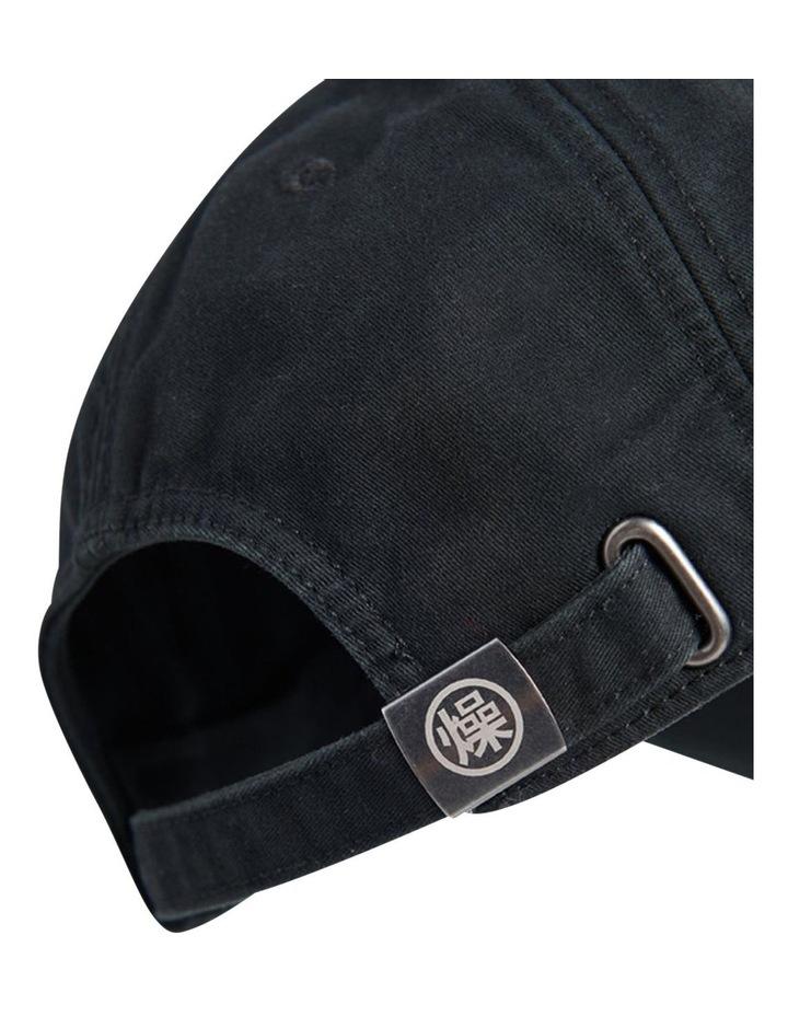 Orange Label Cap Black image 3
