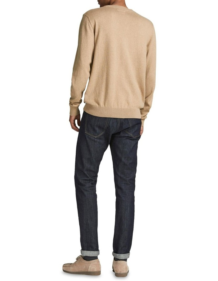 Ray Cashmere Crew Neck Knit Camel image 2