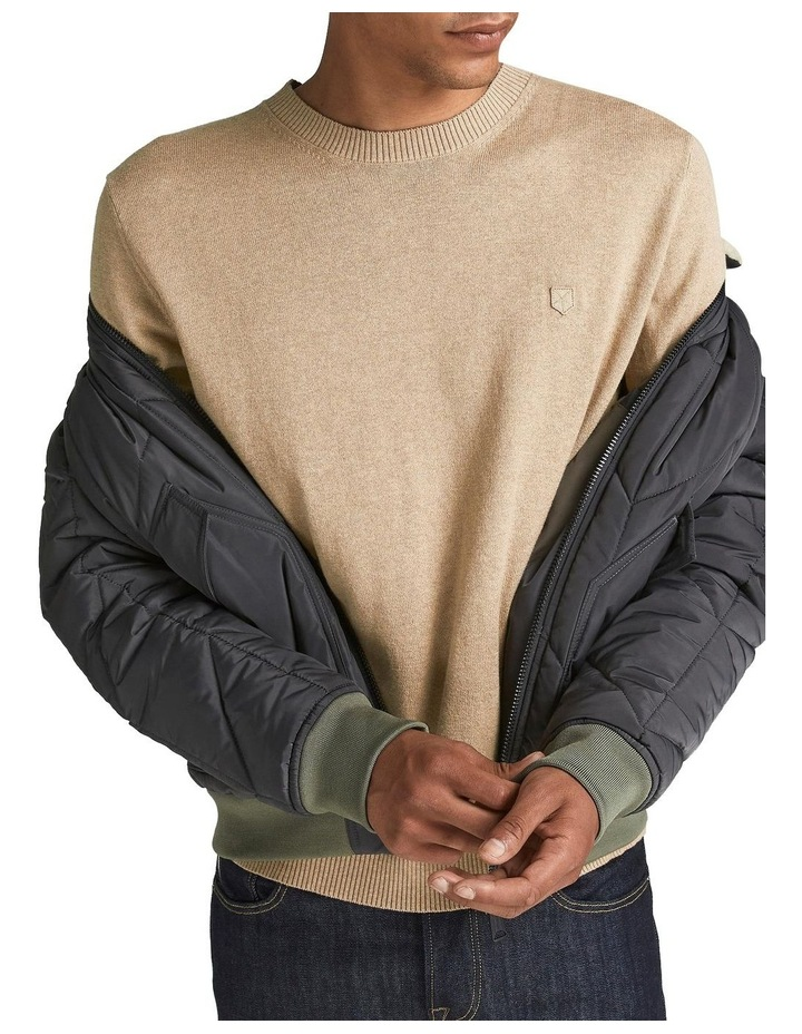 Ray Cashmere Crew Neck Knit Camel image 4
