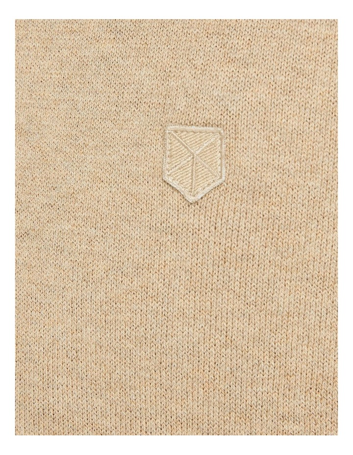 Ray Cashmere Crew Neck Knit Camel image 5