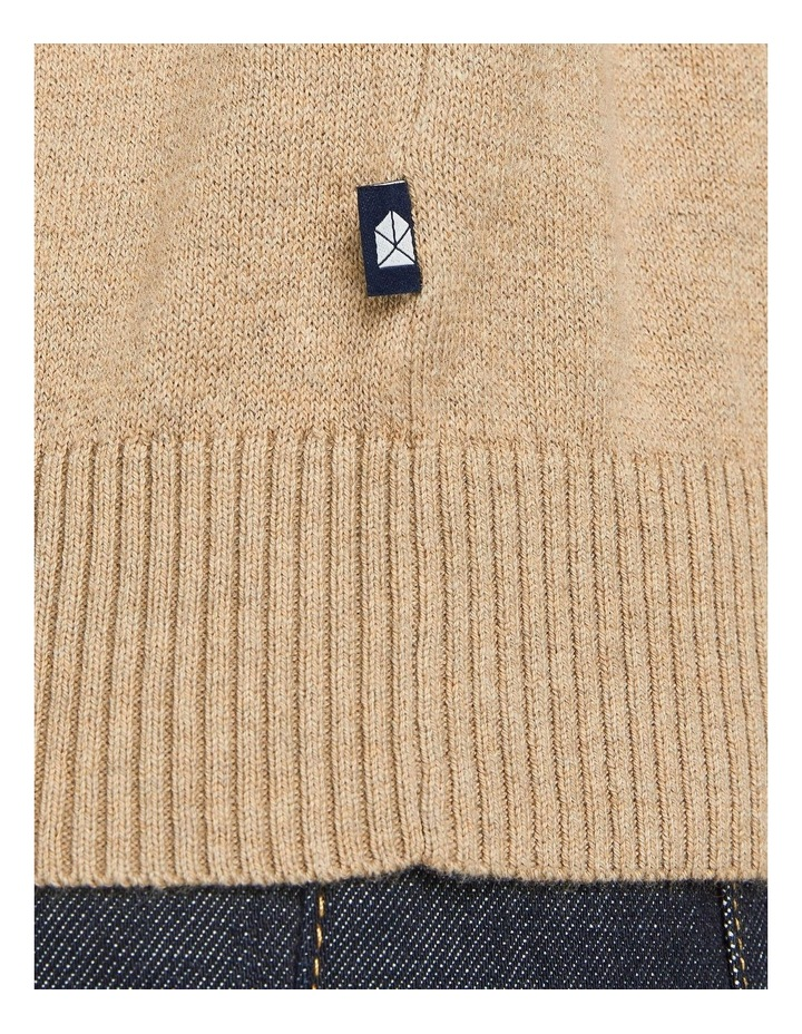 Ray Cashmere Crew Neck Knit Camel image 6
