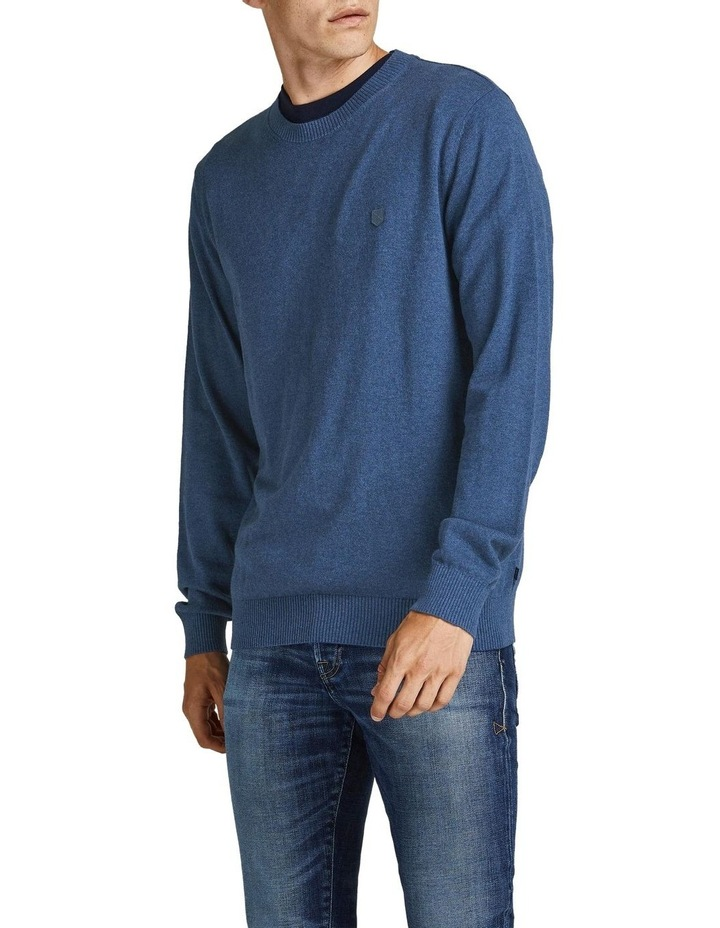 Ray Cashmere Crew Neck Knit Blue image 1