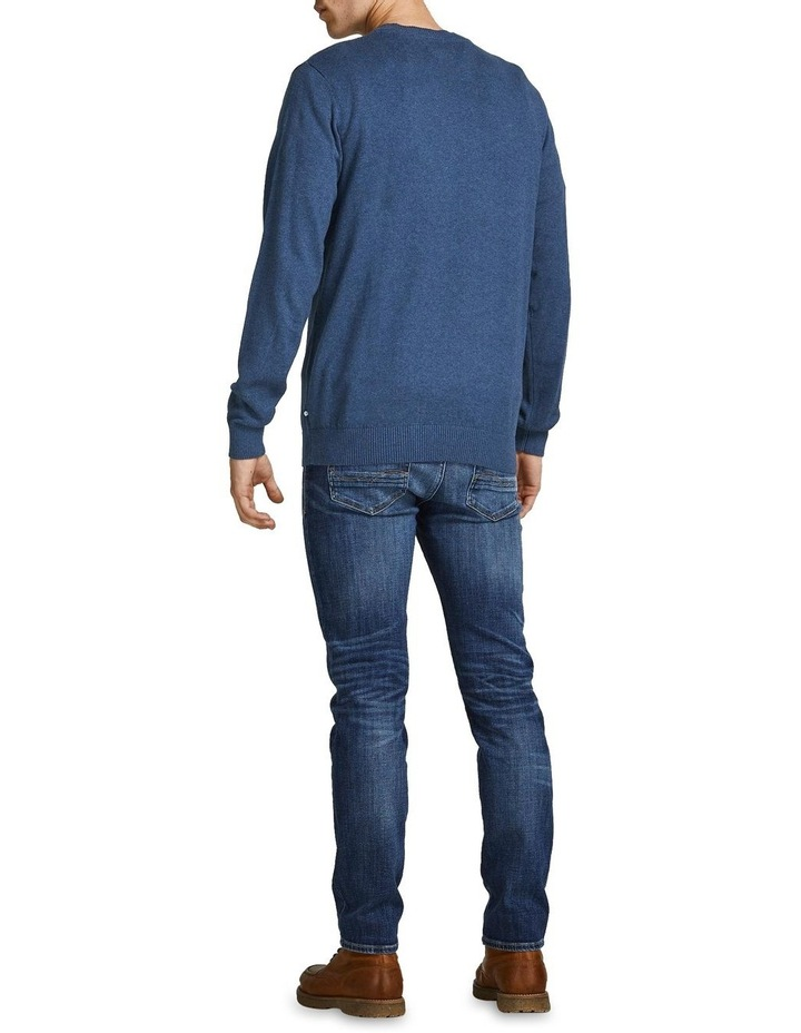 Ray Cashmere Crew Neck Knit Blue image 2