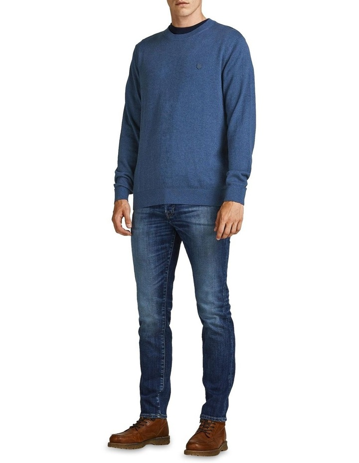 Ray Cashmere Crew Neck Knit Blue image 3