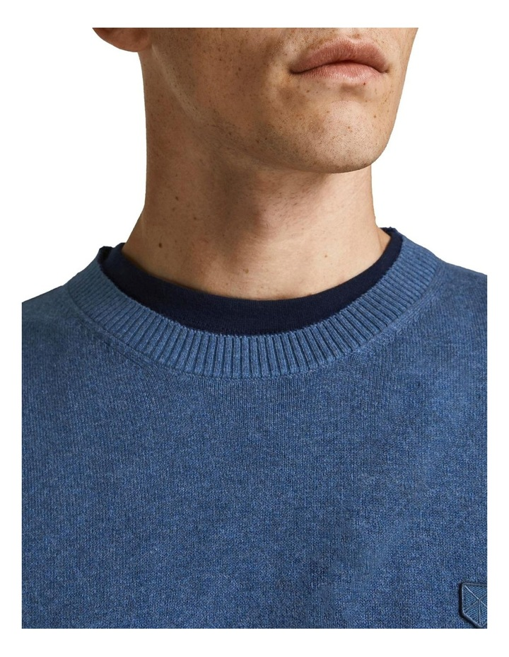 Ray Cashmere Crew Neck Knit Blue image 4