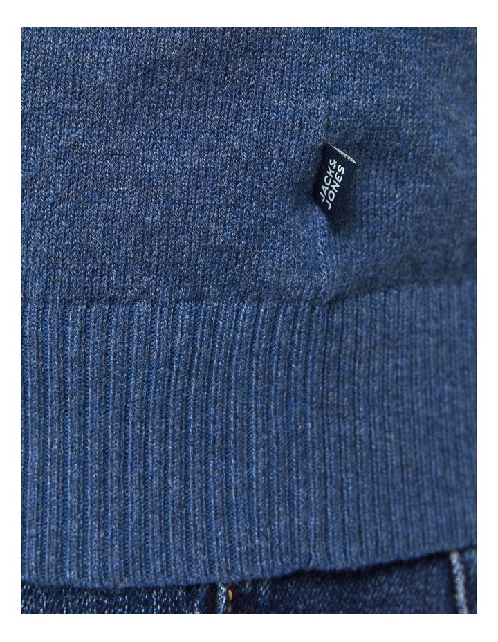 Ray Cashmere Crew Neck Knit Blue image 6