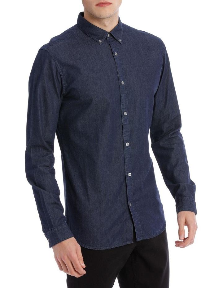 Amsterdam Long Sleeve Denim Shirt image 2