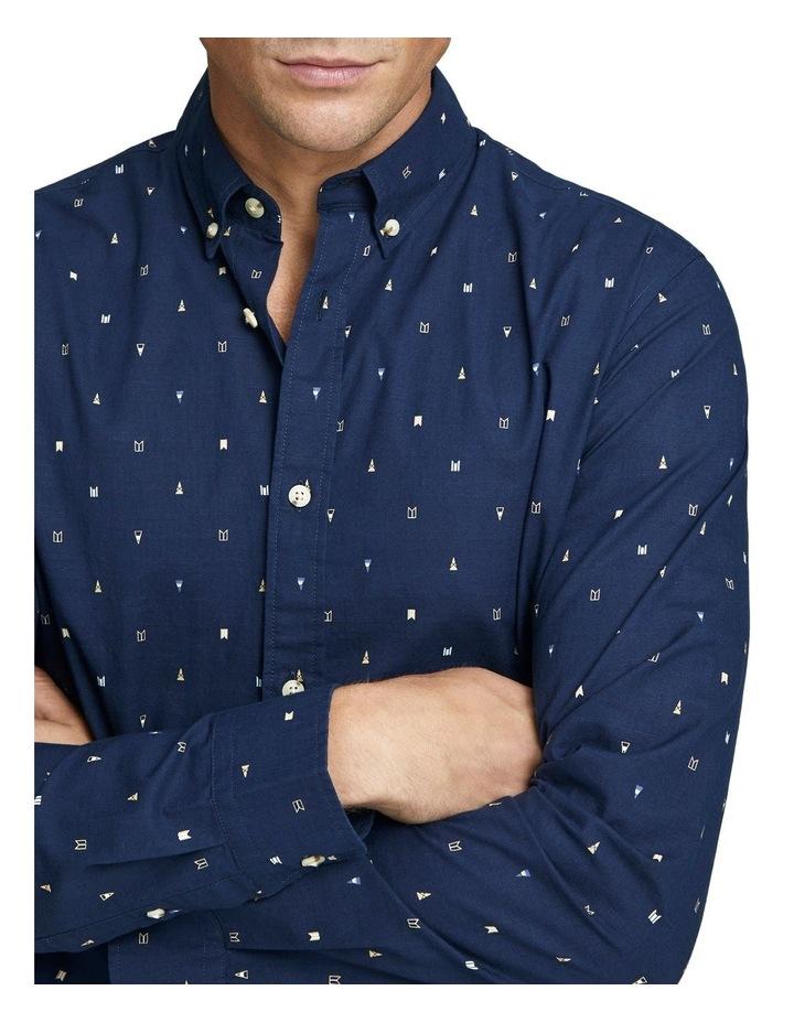 Ditsy Long Sleeve Shirt image 4