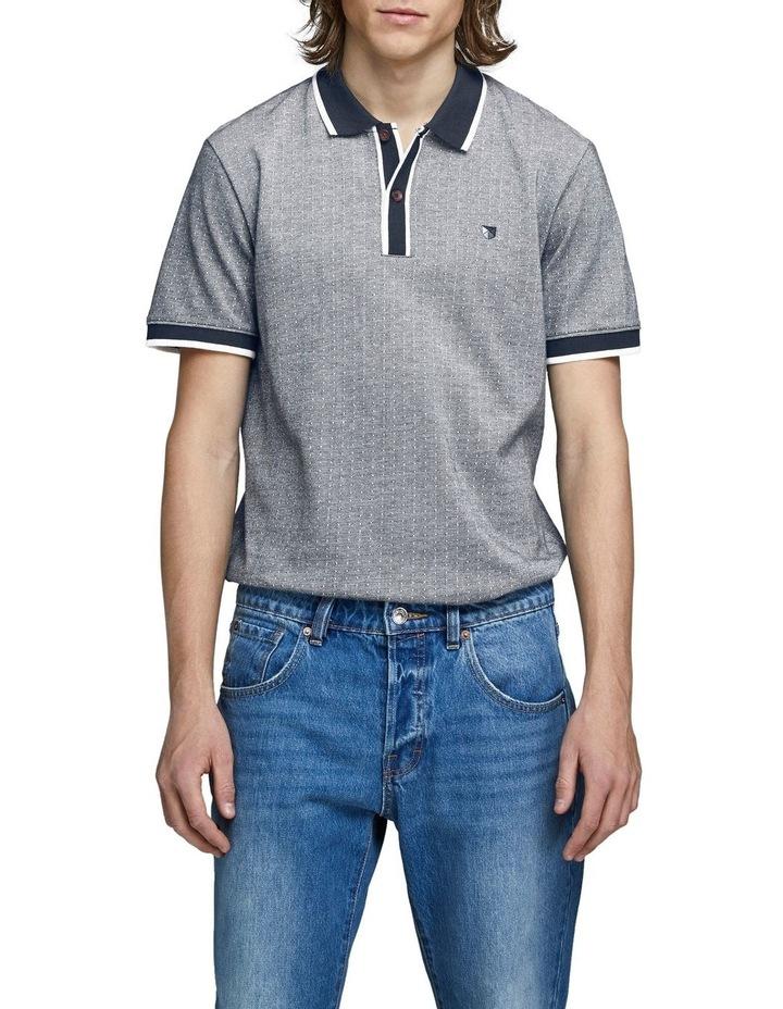 Milton Blu Short Sleeve Polo image 1