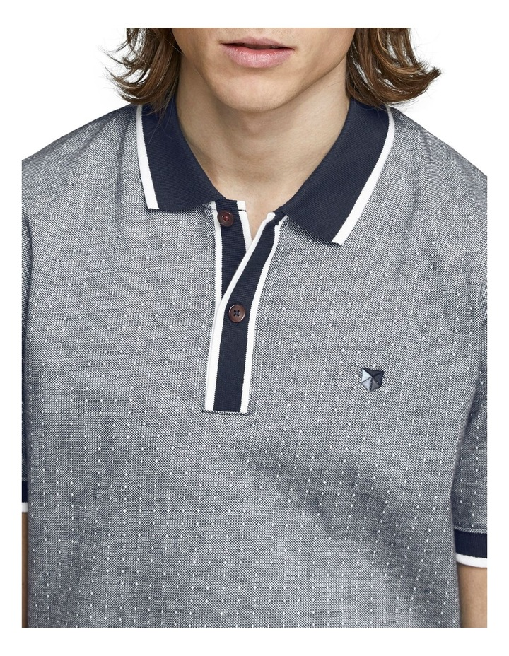 Milton Blu Short Sleeve Polo image 3