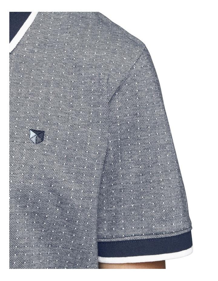 Milton Blu Short Sleeve Polo image 5