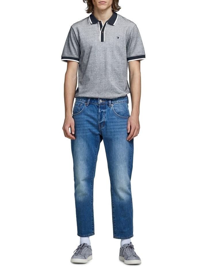 Milton Blu Short Sleeve Polo image 6