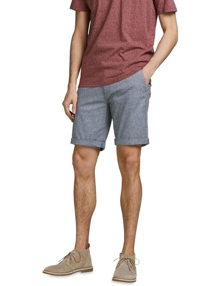 Dave Linen Shorts Blue image 1
