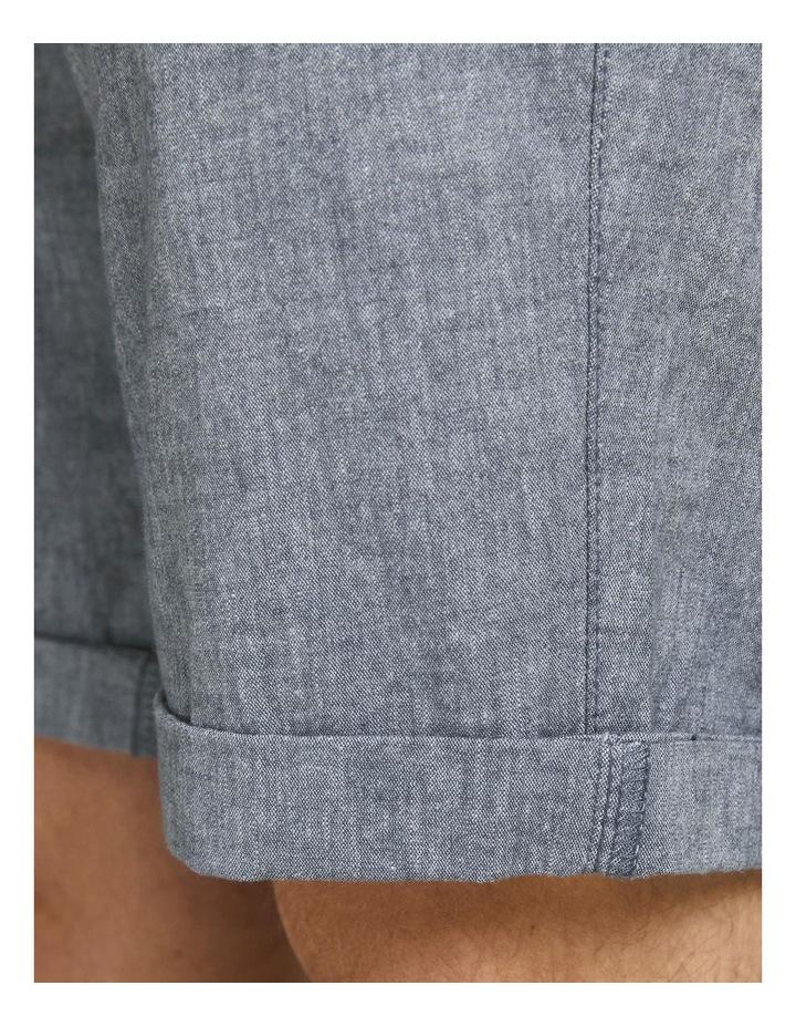 Dave Linen Shorts Blue image 5