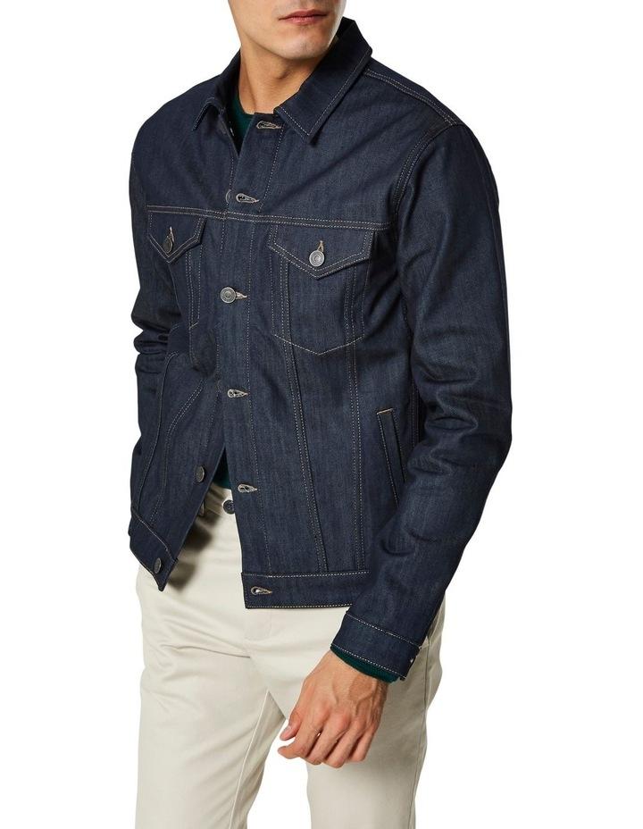 Jeppe 6149 Raw Coat Denim Jacket image 1