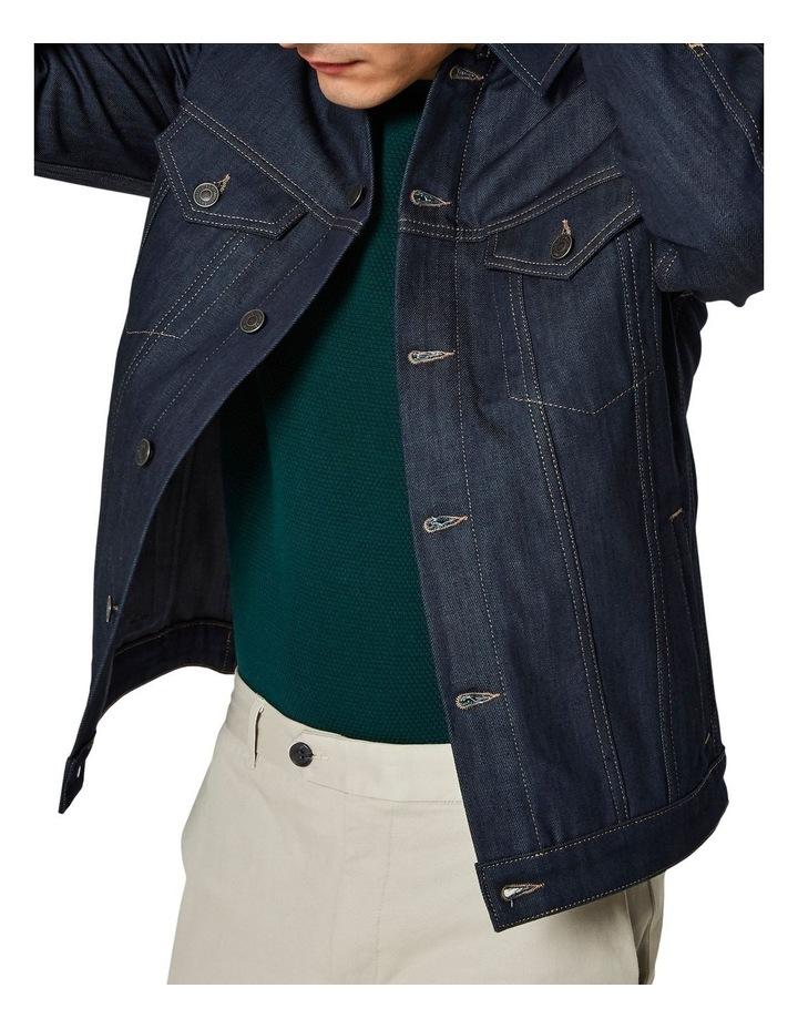 Jeppe 6149 Raw Coat Denim Jacket image 4