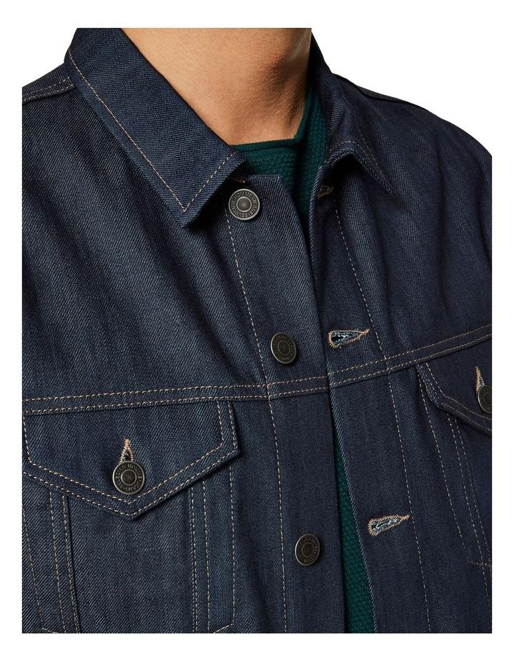 Jeppe 6149 Raw Coat Denim Jacket image 5