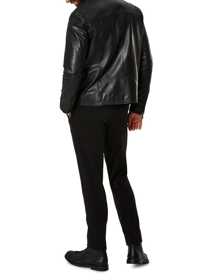 B-02 BIKER LEATHER JACKET image 2