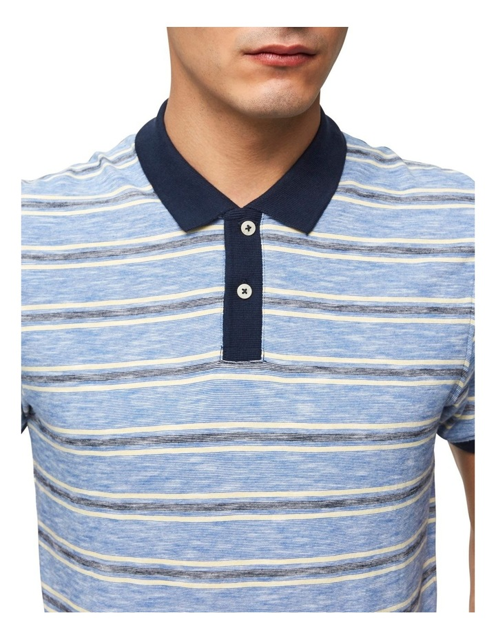 Kasper Stripe Short Sleeve Polo image 5