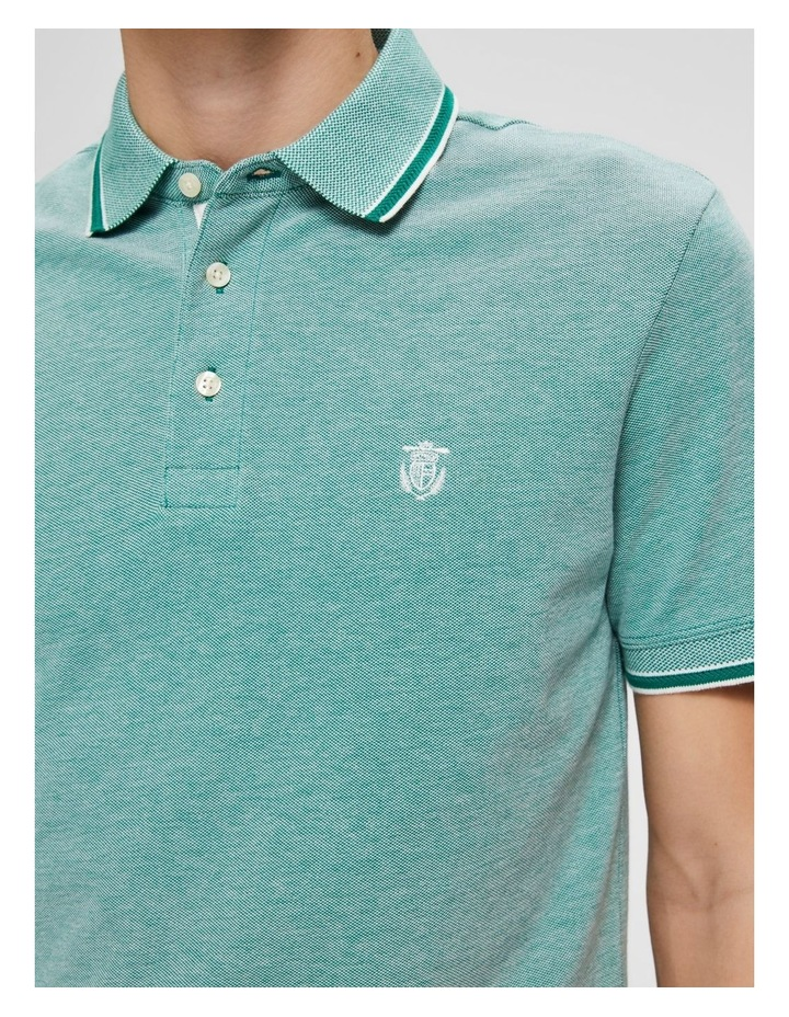Twist Short Sleeve Polo image 3