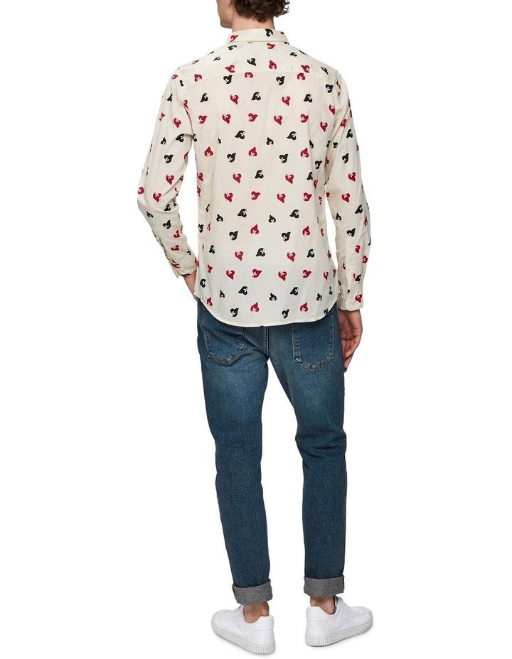 Printed Long Sleeve Shirt image 2
