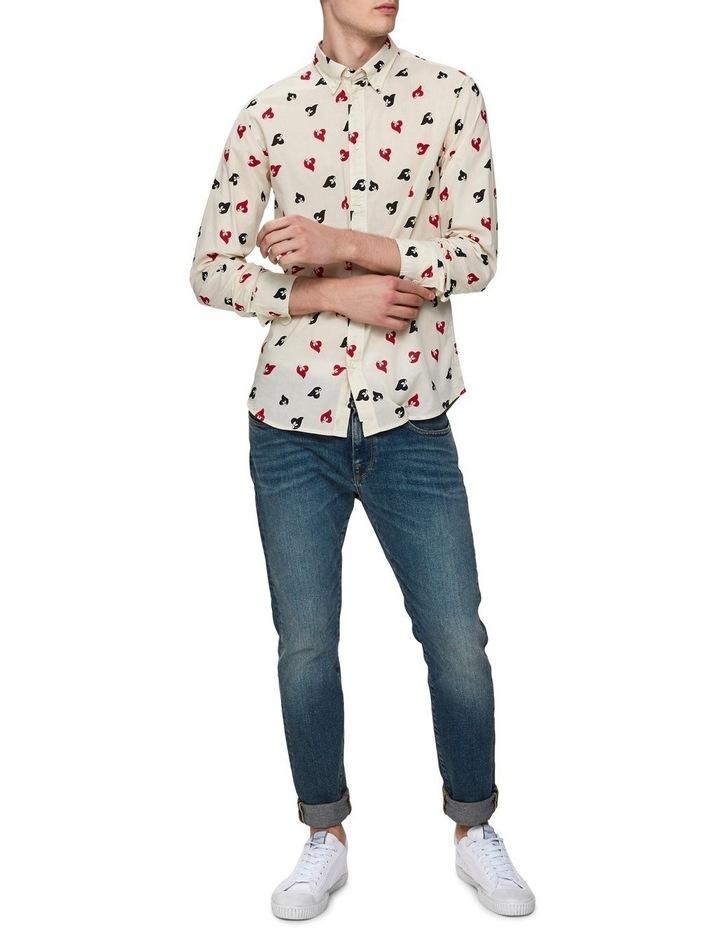 Printed Long Sleeve Shirt image 3