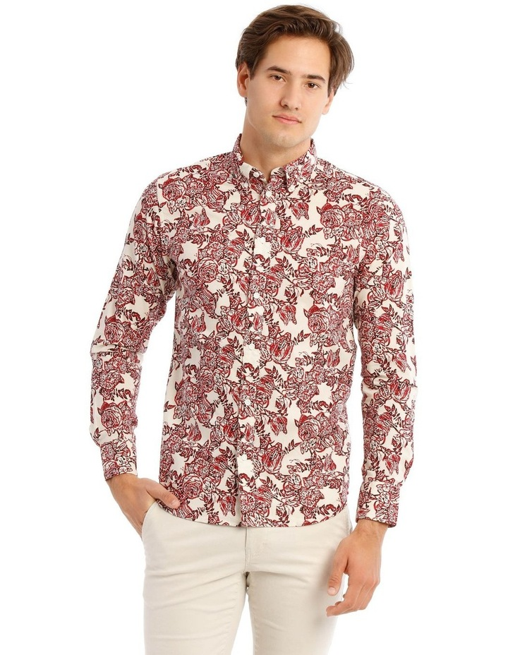 Printed Long Sleeve Shirt image 1