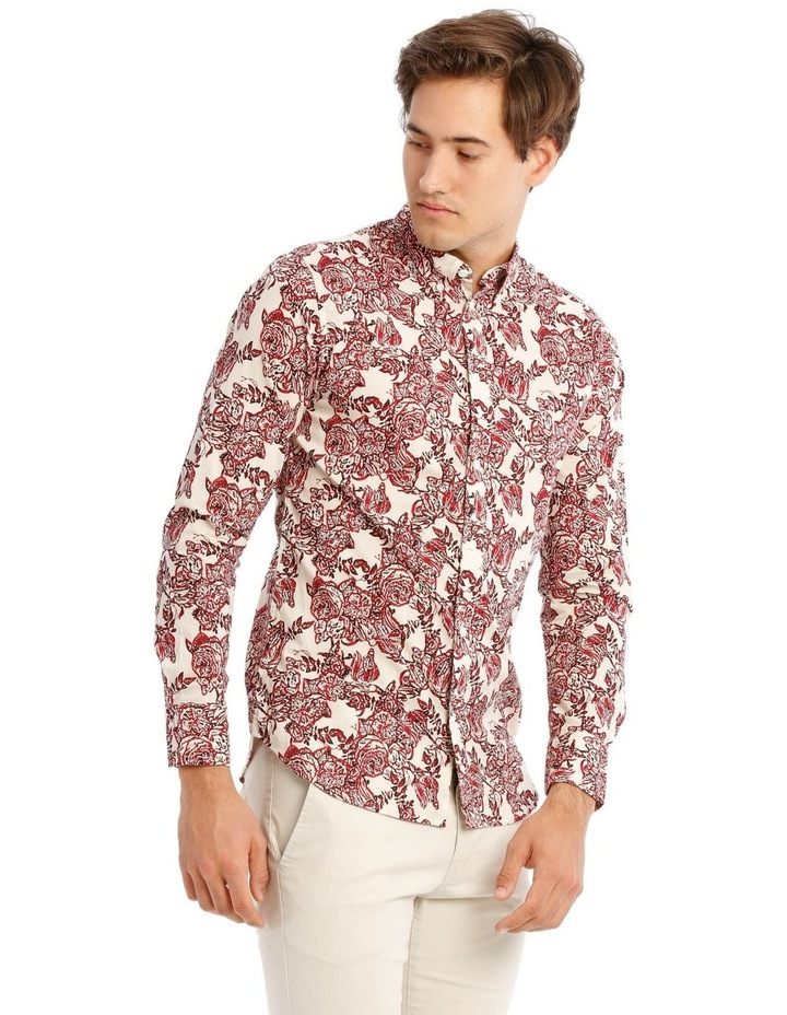 Printed Long Sleeve Shirt image 2