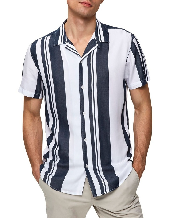Regkevin Short Sleeve Striped Shirt image 1